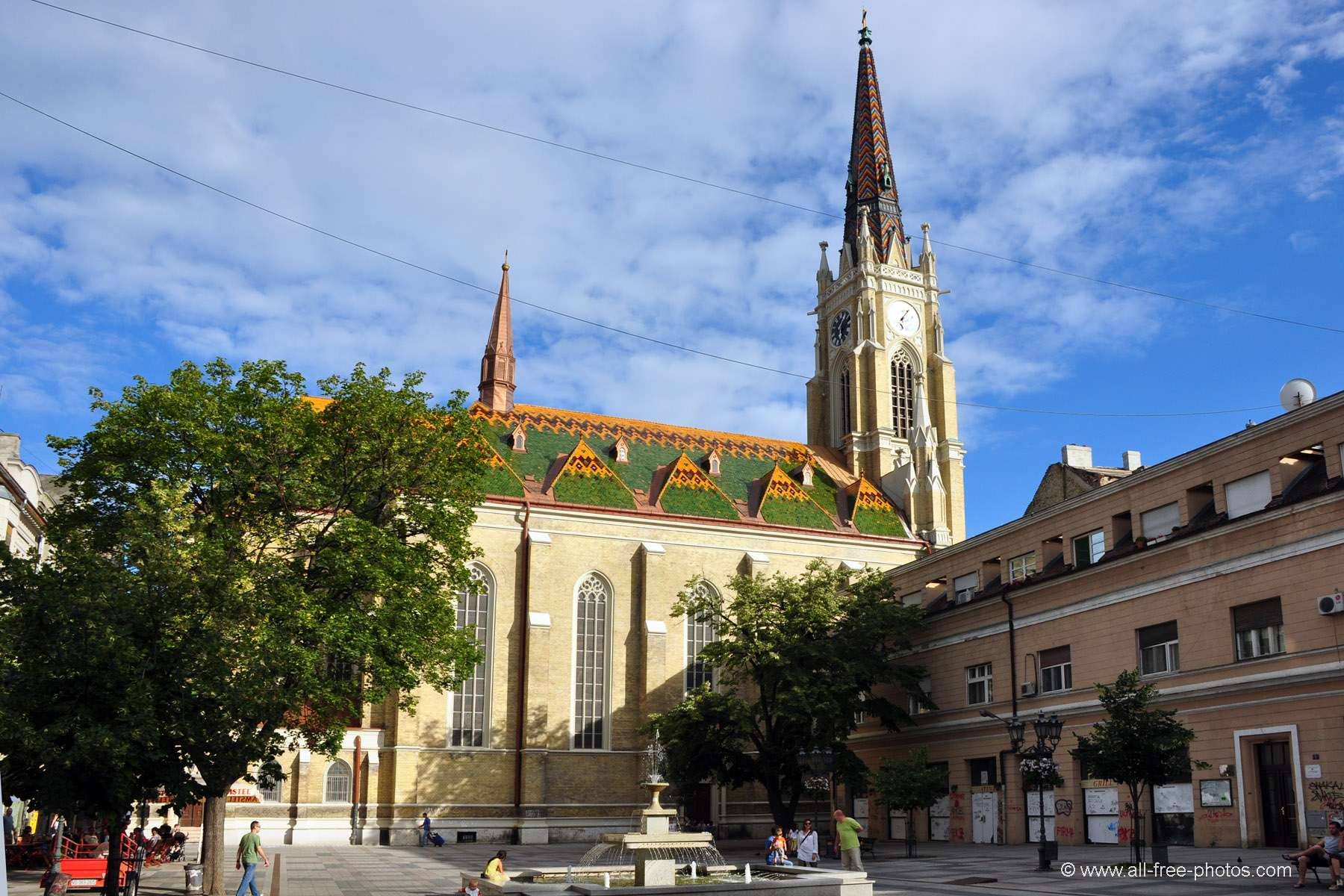 Cathédrale - Novi Sad - Serbie