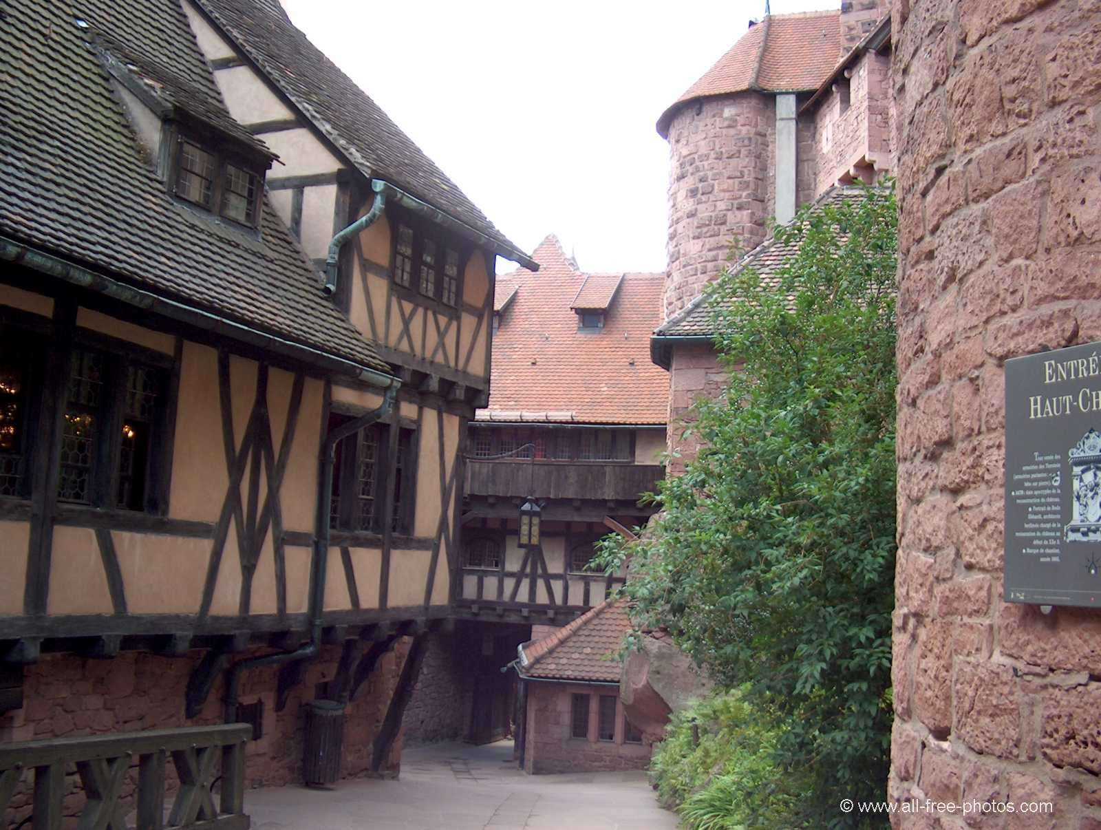 Castle of Haut Koenigsbourg - Vosges - France